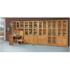 3 DOORS BOOKCASE SALE